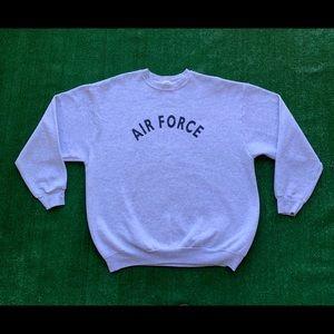 Vintage 90s USAF Air Force Spellout Sweatshirt
